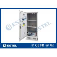 China Stainless steel Temperature Control Outdoor Battery Cabinet With 3 Layer Battery For Telecom Station wholesale