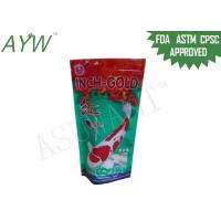 China Mylar Foil Pouches For Pet Protein Powder , Plastic Food Packaging BagsFor Dog wholesale