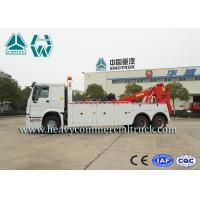 Howo Commercial Heavy Wrecker Trucks With Flexible Lifting Arm Euro II