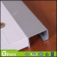 Buy cheap furniture hardware cheap accessories aluminum material profile for kitchen from wholesalers