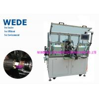 China 2 Flyers Slot Air Coil Winding Machine , Armature Auto Winding Machine on sale
