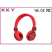 China Professional Bluetooth 3.0 Headset With EQ Button Purple / Blue / Red / Pink Color wholesale