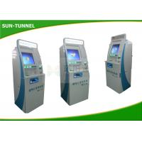 China Cold Rolled Steel Material Custom Kiosk Printer Ticket Dispenser Machine 60MHZ wholesale