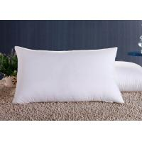 China Polyester Fiber Hotel Standard Comfort Pillows , Hotel Collection Decorative Down Pillows wholesale
