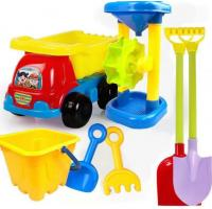 China 2020 Hot Sale Outdoor Sandbeach Toys Bucket Shovel Toddler Kids Children Beach Sand Toy Set Kids Plastic Beach Toys wholesale
