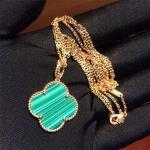 China Girls 18K Gold Jewelry Magic Alhambra Long Necklace 1 Motif VCARO3MG00 wholesale
