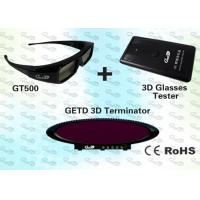 China 3D Cybercafé Solution with 3D IR emitter and shutter glasses  wholesale
