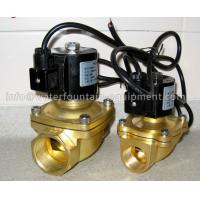 China Musical Fountain Electromagnetic Solenoid Valve , Brass Water Solenoid Valve wholesale