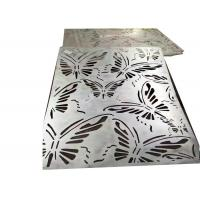 China Curved Decorative Sheet Metal Panels Special Designed With Galvanized Surface wholesale