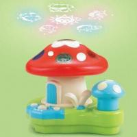 China Battery operation nice dream mushroom projection, made of eco-friendly ABS plastic wholesale