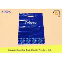 China 20cmx30cmx60mic attractive printing packing die cut handle supermarket bags wholesale