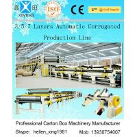 China 100 M / Min A B Flute Corrugated Box Machinery Corrugated Carton Making Machine wholesale