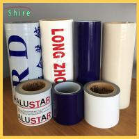China Removable Adhesive Transparent Film , Self Adhesive Clear Plastic Film For Cars wholesale