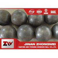 China 3 Inch Dia 20-1500 mm Forged and cast Grinding Steel Ball  Good Wear Resisitance wholesale