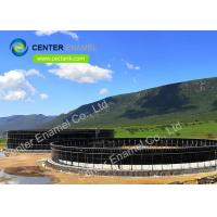 China Easy Assemble Bolted Steel Leachate Storage Tanks 20 m3 To 20000 m3 Capactiy on sale