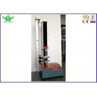 Quality 5000N Single Arm Computer Servo Tensile Strength Testing Machine ISO10319 & ISO12236 for sale