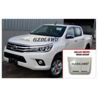 China White Smooth Bonnet Car Hood Scoop Cover Air Vent For Toyota Hilux Revo wholesale