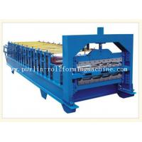 China 0.3mm - 0.8mm Color Steel , 12Mpa Roof Double Layer Roll Forming Machine wholesale