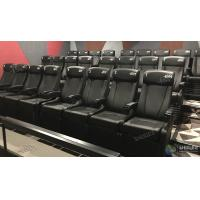 China Theme Park 4D Movie Cinema System Motion Film Theater Equipment With Attracting 12 Dynamic Special Effects wholesale