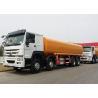 Buy cheap SINOTRUK HOWO 8x4 Horsepower 371Hp Engine Oil Tank Truck , Oil Tanker Trailer from wholesalers
