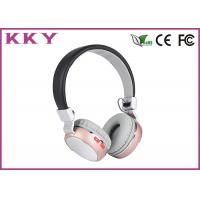 Custom Logo On Ear Bluetooth Headphones With Mic 2.402~2.480GHz Frequency