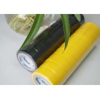 China Flame Retardant Yellow / Black PVC Electrical Tape Low Lead And Low Cadimum wholesale