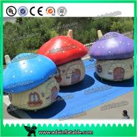 China Oxford Cloth Giant Inflatable Mushroom Advertising Inflatables For Event Party Decoration wholesale