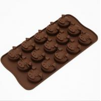 China Animal Plastic Silicone Chocolate Molds Tool Heat Resistant Professional wholesale