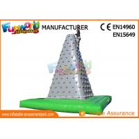 China Big Inflatable Sports Games Outdoor Air Rock Climbing Wall CE UL SGS on sale