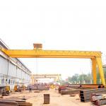 China Monorail Semi Gantry Crane Single Beam Half  5T 10T 20T High Performance wholesale