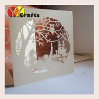 wedding invitation card ivory Wholesale Cheap Paper Craft Greeting Card Printing Wedding Suppliers