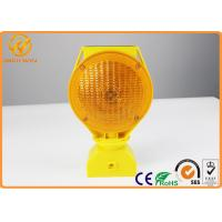 China Waterproof 360 Degree Swivel Head Light Solar Flashing Warning Lights 0.4W wholesale
