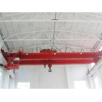 China 250 Ton Double Girder Overhead Crane Rail Electric Hoist For Workshop Optional Color wholesale