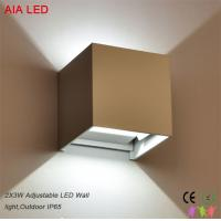 China White exterior waterproof IP65 adjustable 0-90degree beam angle LED wall light for passageway wholesale