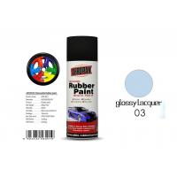 China Car Removable Rubber Spray Paint , Air Dried Auto Spray Paint With Glossy Lacquer Color wholesale