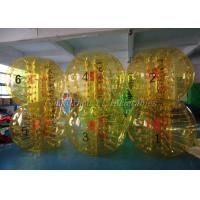 China Exciting Inflatable Soccer Games Full Color Adult Human Bubble Ball Suit wholesale