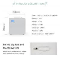 LCD Touch Screen Design 500ml Aroma Oil Electric Scent Diffuser Machine for Coffee Shop
