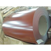 Iron Red Color Coated Galvanized Steel Coil For Agricultural Warehouse