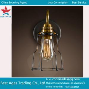Amber Globe Glass Vintage Ceiling Wall Lamp Light Chandelier Pendant Lighting