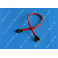 Buy cheap 7 Pin Internal Serial ATA Data Cable Male To Female SATA Extension Data Cable from wholesalers