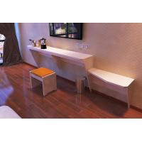 China Waterproof Wall Mounted Computer Desk Simple 5 Star Hotel Furniture wholesale