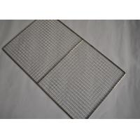China Food Grade 304 Stainless Steel Shelf Mesh Tray For Cooling Racks on sale