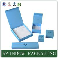China Custom Size Sky Blue Jewelly Case , Grazioso Cardboard Box for Jewelly Box wholesale
