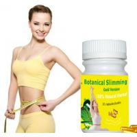 China Botanical Slimming gold version capsule 100% Original softgel Weight Loss Supplements on sale