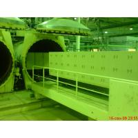 China Food Rubber Sand Concrete Autoclave Industrial / AAC Block Equipment Φ2M wholesale