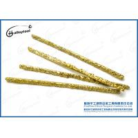 China Copper And Tungsten Carbide Welding Rod For Low Carbon Steel Structure on sale