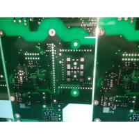 China FR-4 ITEQ 1.50-1.60mm Thick Double Sided PCB 1oz Copper Green Solder Mask wholesale