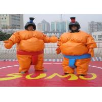 China Amazing Adult Inflatable Outdoor Games / Inflatable Sumo Wrestler Suit wholesale