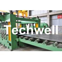 China Double Support Uncoiler Stainless Steel Cut To Length Machine Line TW-CTL1250 wholesale