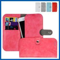 China Watermelon Wallet Leather Smartphone Cases Purse Pouch With Card Slots on sale